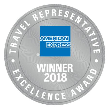 Winner 2018, American Express Travel