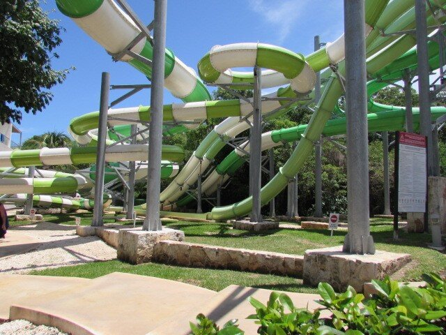 Sandos Caracol Eco Resort  Water Park