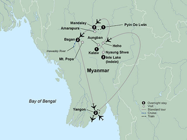 Discovering Myanmar