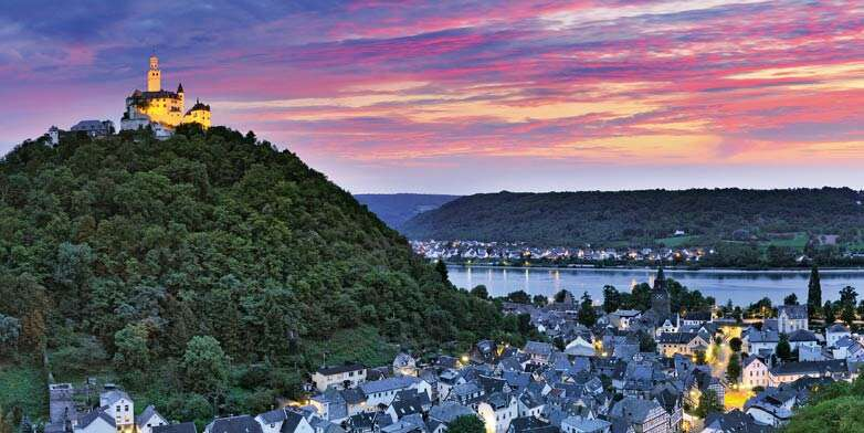 Castles along the Rhine