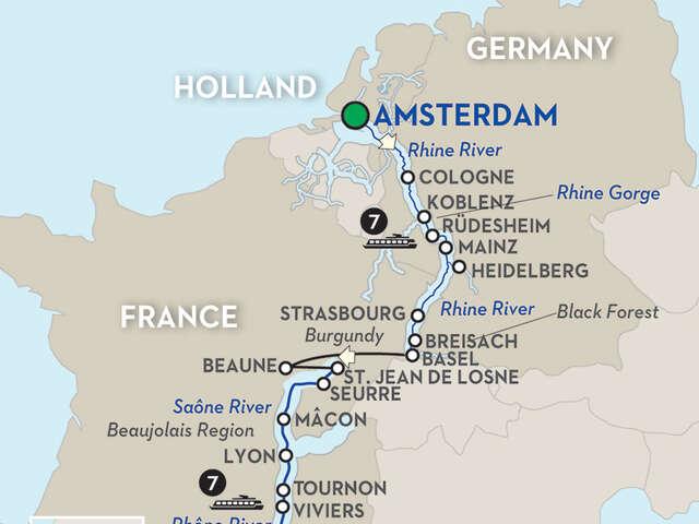 Rhine & Rhône Revealed with Barcelona – Southbound