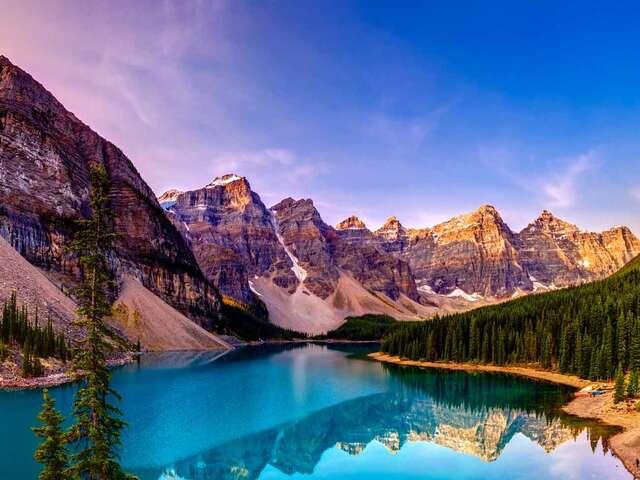Spectacular Canadian Rockies with Rocky Mountaineer Silverleaf and Alaska Cruise Verandah Stateroom Summer 2018