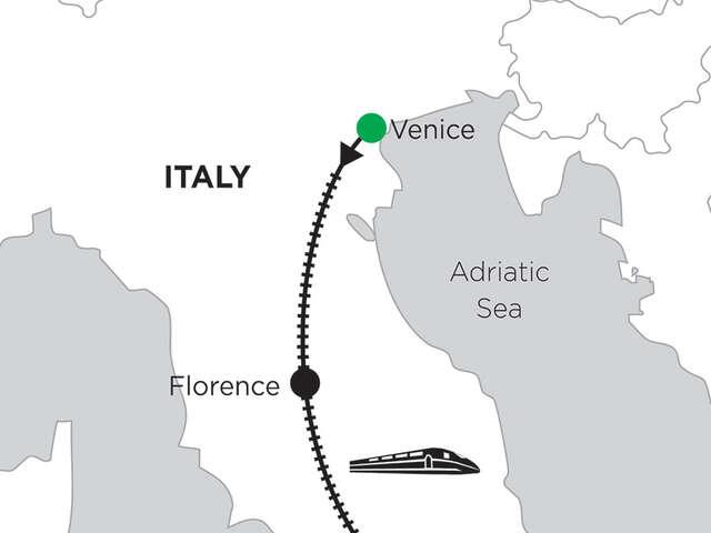 2 Nights Venice, 4 Nights Florence & 2 Nights Rome