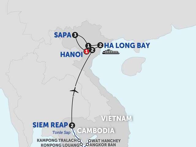 The Heart of Cambodia & Vietnam with Sapa - Northbound
