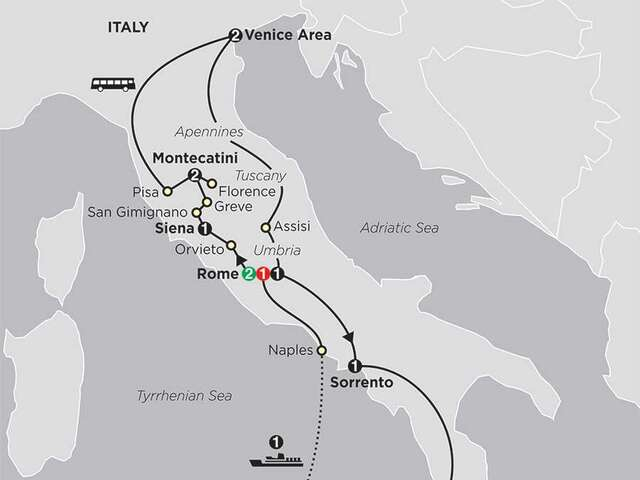 The Splendors of Italy with Sicily