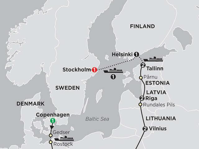 The Baltic States & Scandinavia