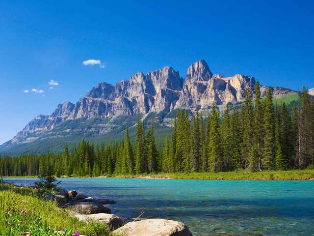 Panoramic Canadian Rockies with Alaska Cruise Verandah Cabin Summer 2019