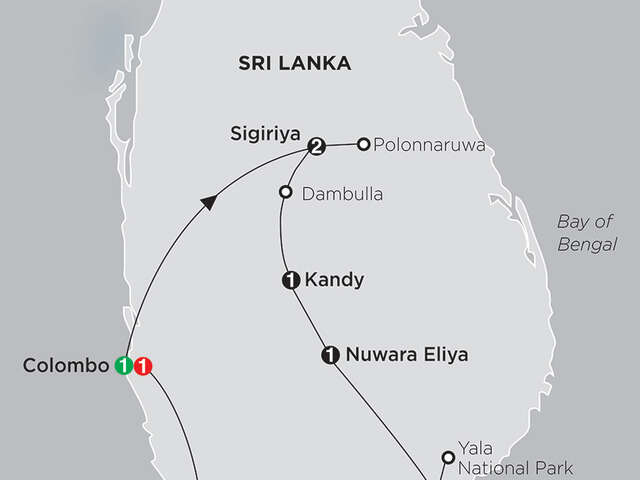 Grand Tour of Sri Lanka