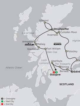 Scottish Outlander Adventure