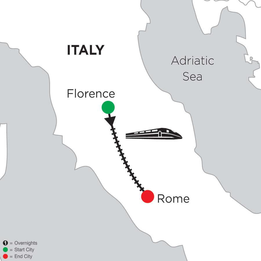 5 Nights Florence & 5 Nights Rome
