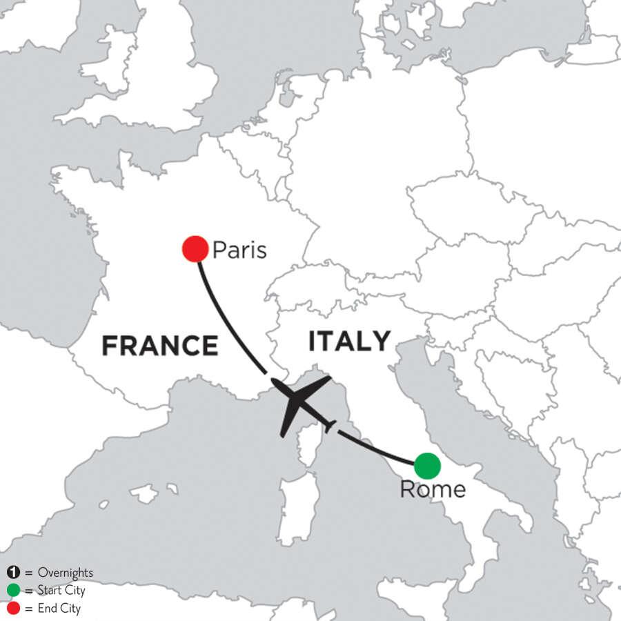 4 Nights Rome & 2 Nights Paris
