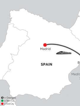 4 Nights Barcelona & 5 Nights Madrid