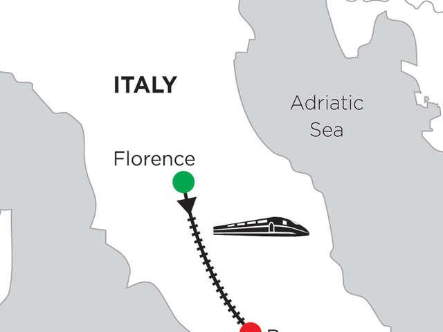 3 Nights Florence & 5 Nights Rome