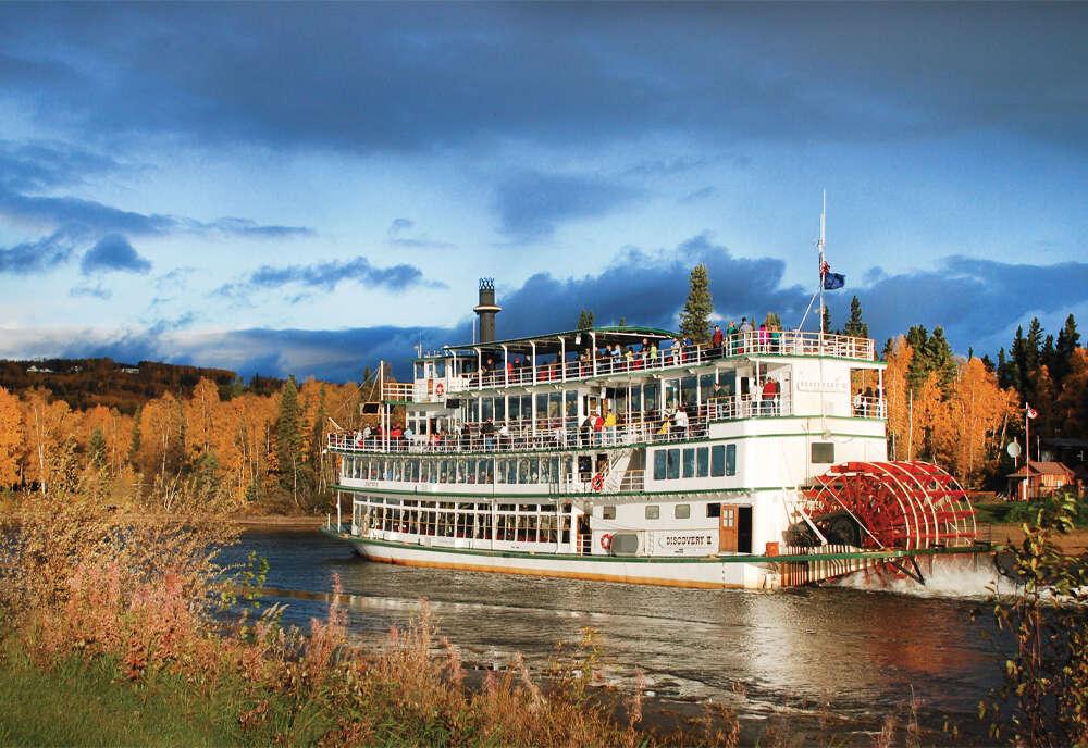 Alaska Discovery Land & Cruise featuring a 7-night Princess Cruise