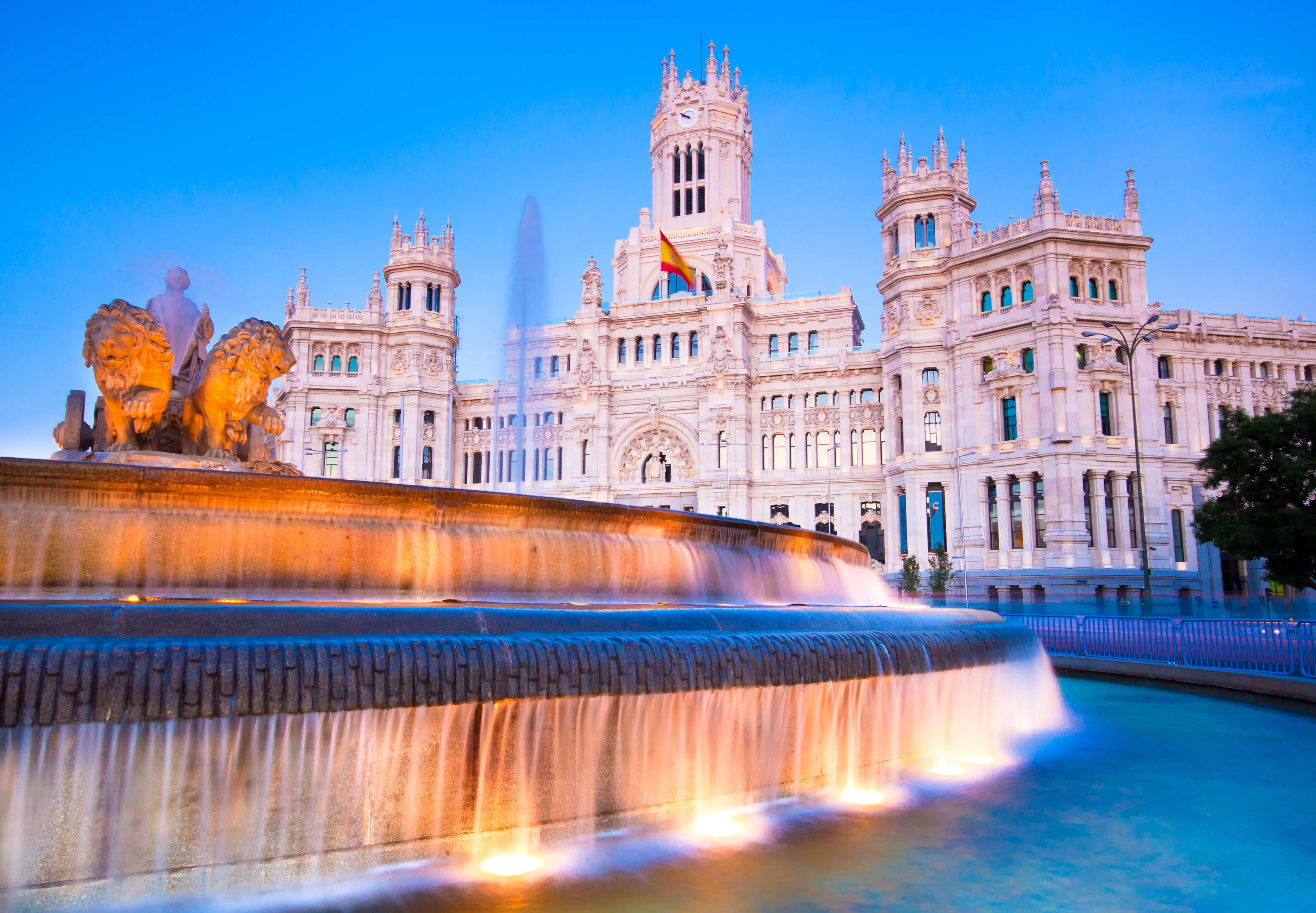 Madrid & Barcelona featuring the AVE High-Speed Train