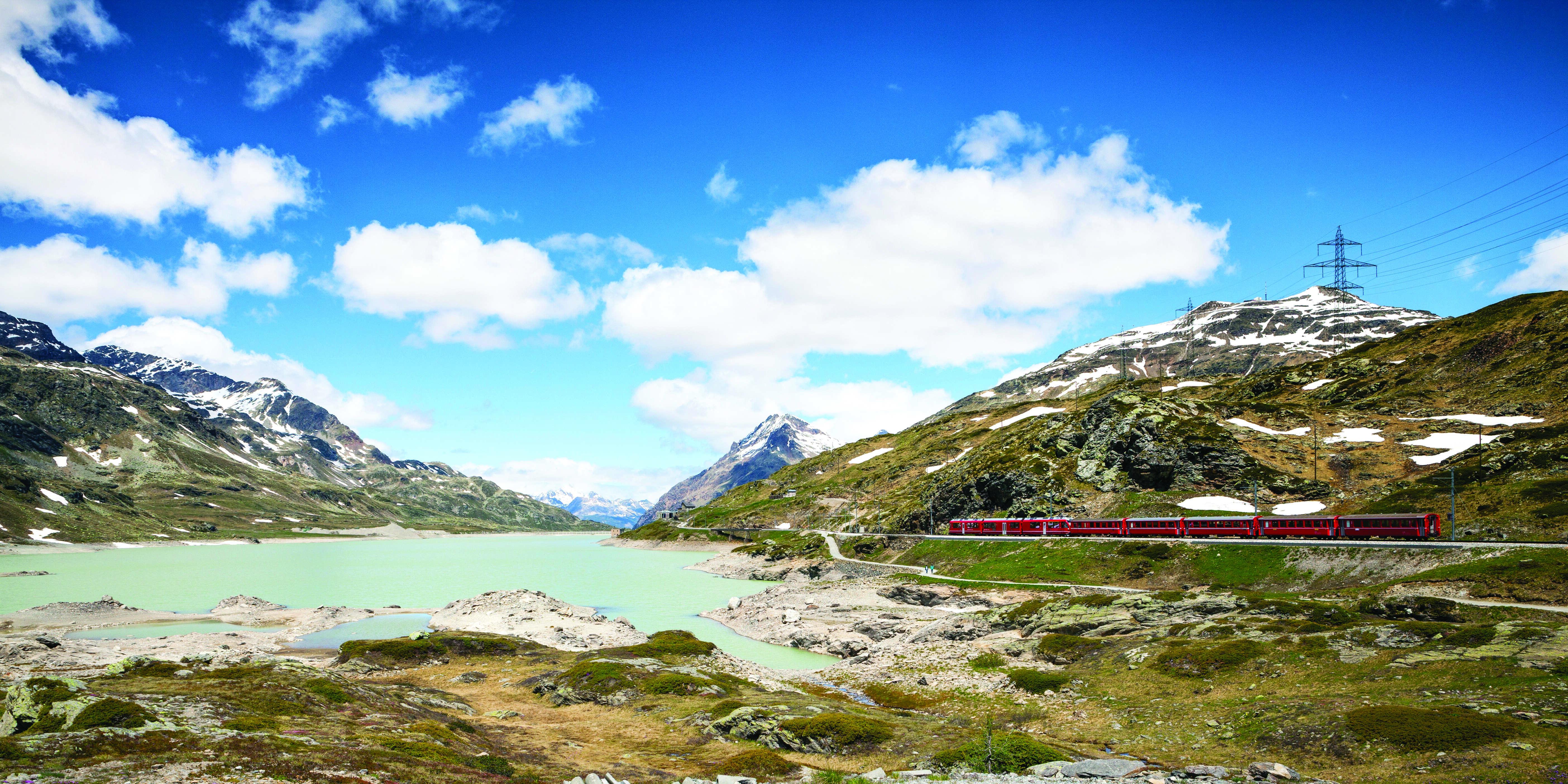 Alpine Lakes & Scenic Trains featuring cruises on Lake Como & Lake Maggiore and scenic trains in Switzerland & Italy