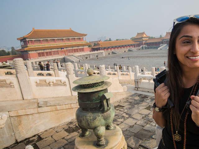Hong Kong to Beijing: Food Stalls & Waterfalls