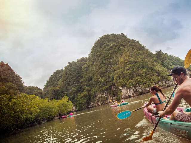 Thailand Hike, Bike & Kayak